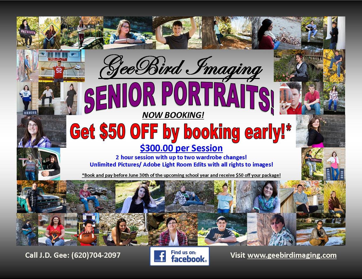 Senior Portraits Package